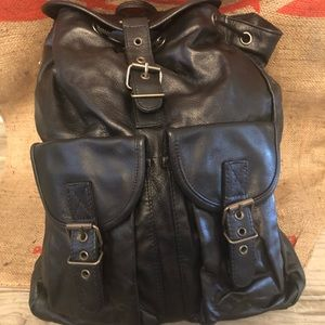 Handbags - Brand New Faux Leather/ polyvinyl  backpack